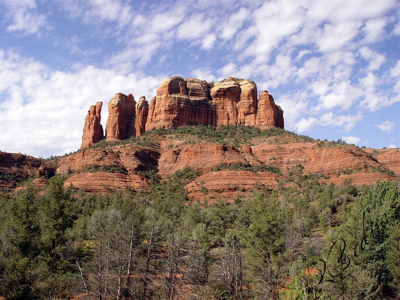 Photo By Robert Bodnar............................................Bell Rock, Sedona AZ