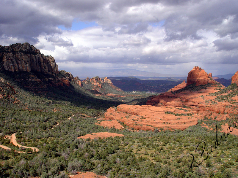 Photo By Robert Bodnar..............................Beautiful view of Bell Rock on the Right