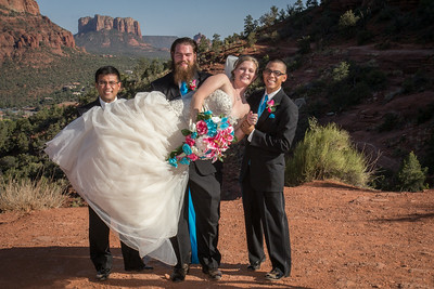 Sedona Airport Vortex Wedding
