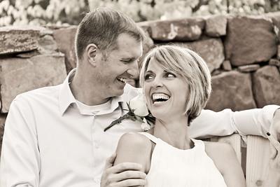 Julie and Jason at Casa Sedona