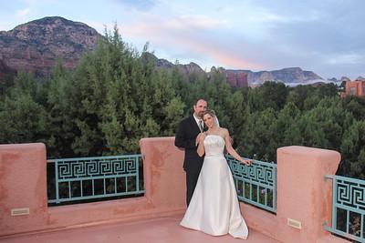 Stephanie & Matt at Casa Sedona Inn