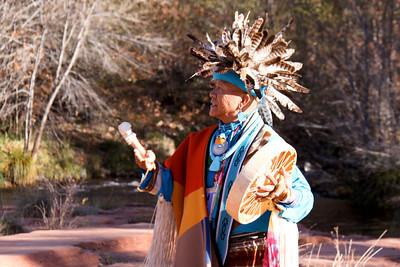 Dierdrea & Clayton's Native Ceremony