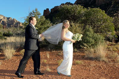 Sedona Wedding at Huckaby Trailhead