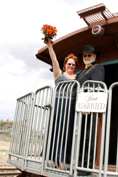 Patricia & Carl on the Verde Canyon Railroad