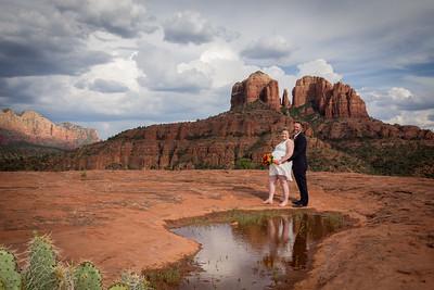 Dawn & Chase's Wedding at Slick Rock