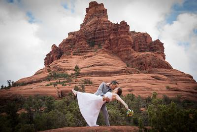 Sedona Wedding at Bell Rock