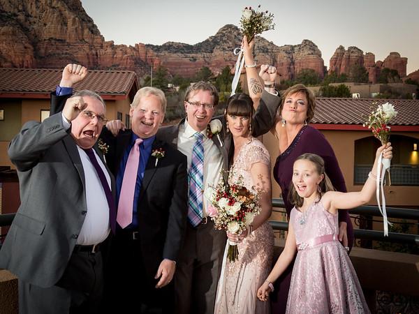 Heidi & Tom's Sedona Rouge Wedding