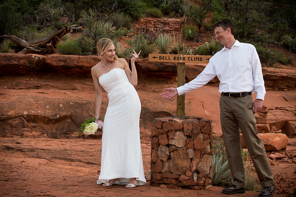 Bell Rock Wedding in Sedona-Angela & Kevin