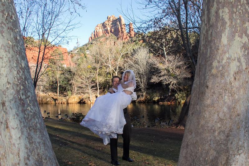 Los Abrigados Weddings in Sedona