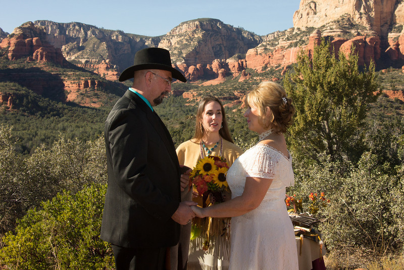 Rachel's Knoll Weddings in Sedona