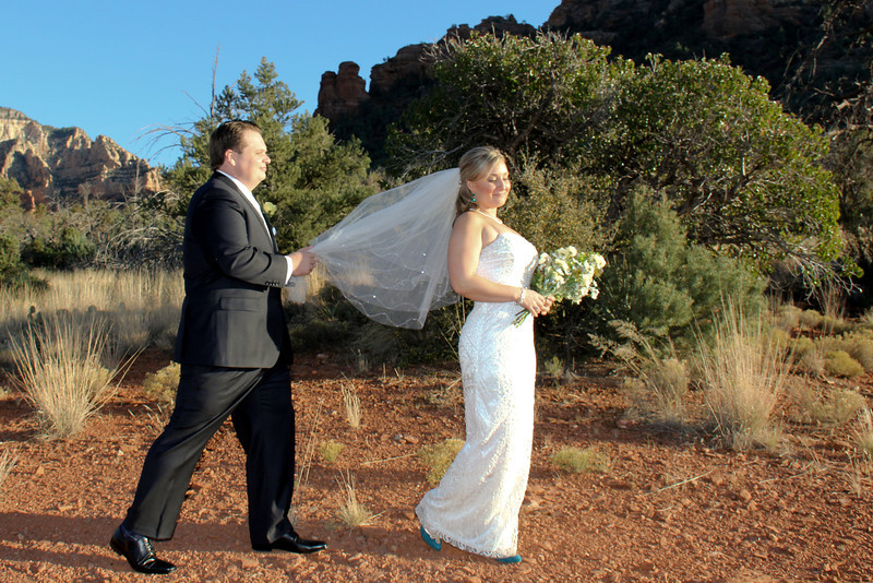 Huckaby Trail Weddings in Sedona