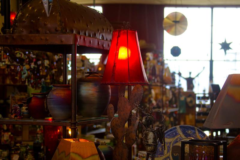 Cactus Lamp, Jerome, Arizona