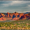 Sedona Valley view from 89A South