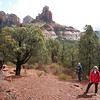 Nearing the lip of Brins Mesa - rain just passed