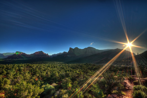Sunrise in Sedona
