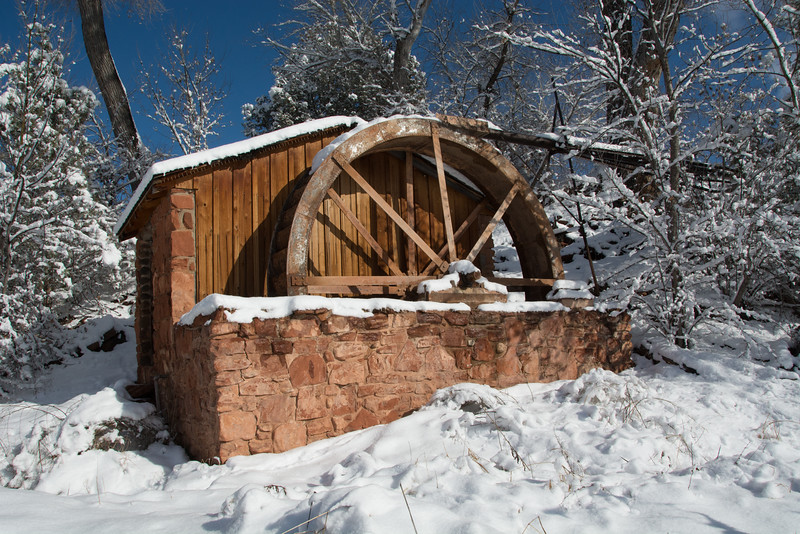 Water Wheel in Sedona
