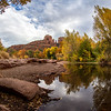 Cathedral Rock - Oak Creek - Fall in Sedona - 02