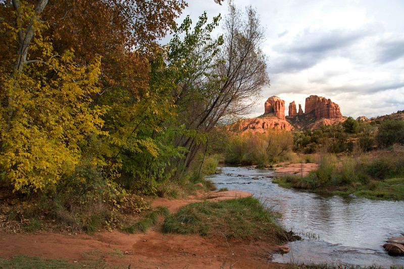 Fall at Red Rock Crossing