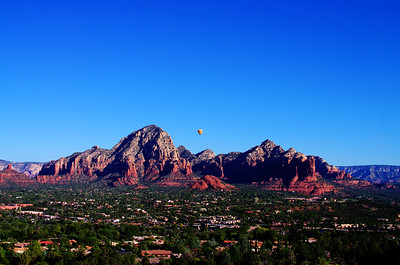 Sedona Hot Air Ballons at Sunrise