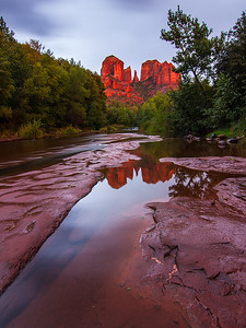Evening, Red Rock Crossing