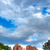 Clouds Over Cathedral Rock in Sedona, Arizona