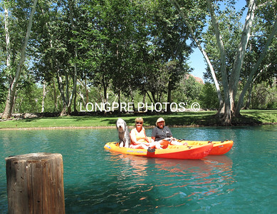KAYAKING on Lake Los Lagos.