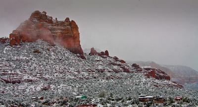 Sedona Snowfall