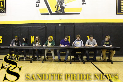 Sandite Athletic Signings