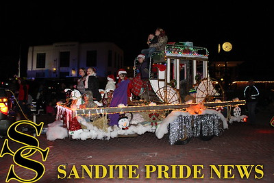 2015 Festival of Lights Christmas Parade