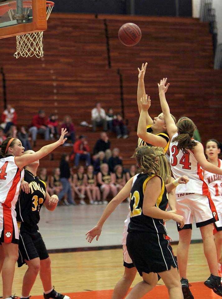 JV Girls vs Tomah 2007