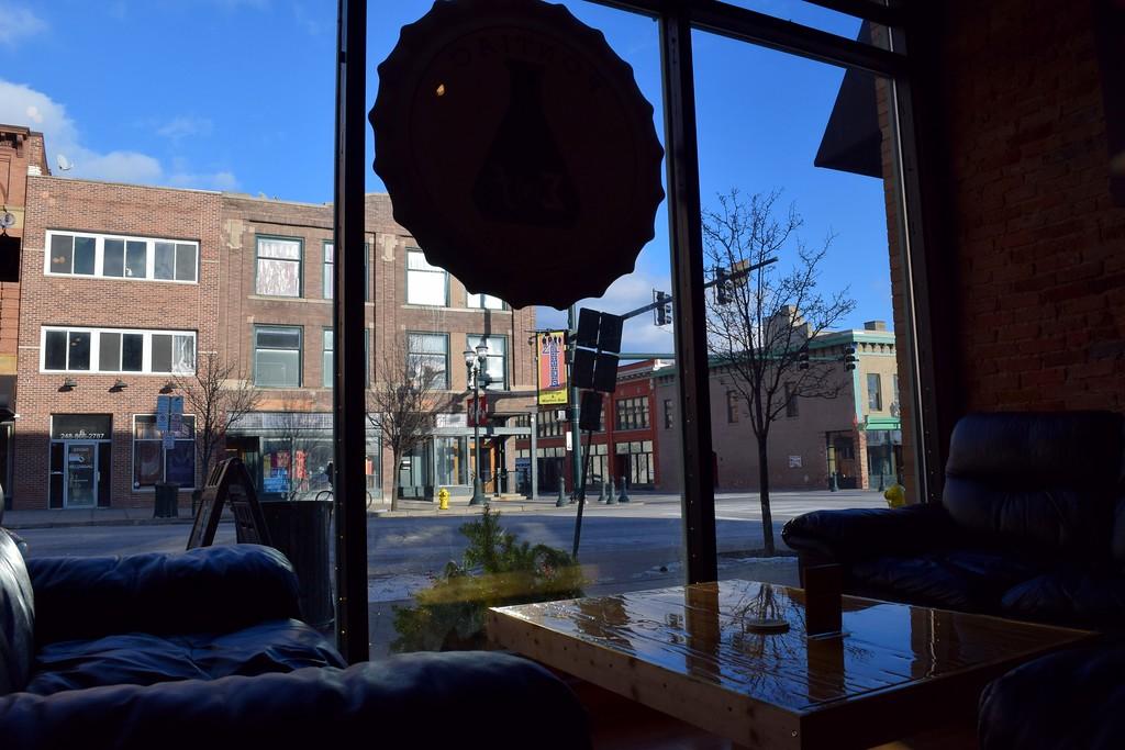 . Inside Exferimentation Brewing Co., 7 Saginaw St. in downtown Pontiac, on Thursday, Feb, 9, 2017.