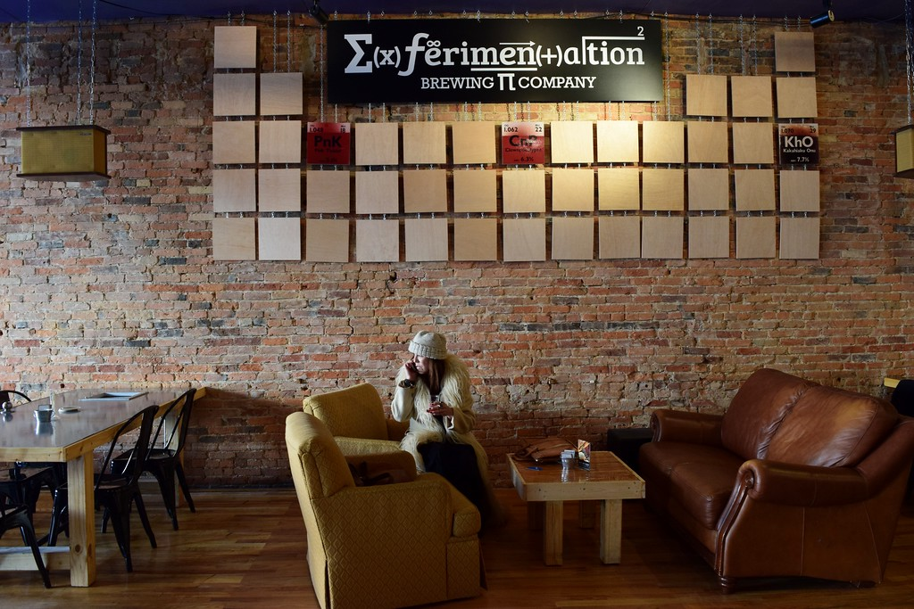 . Inside Exferimentation Brewing Co., 7 Saginaw St. in downtown Pontiac, on Thursday, Feb, 9, 2017.