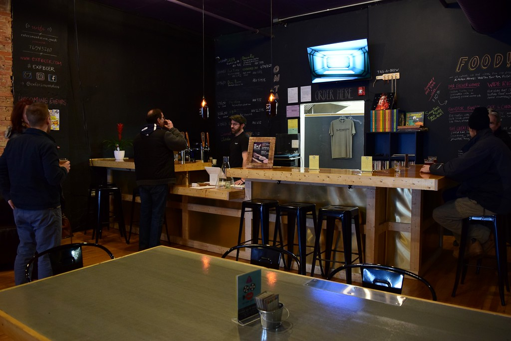 . The Friday afternoon bar crowd starts to roll in at Exferimentation Brewing Co., 7 Saginaw St. in downtown Pontiac, on Thursday, Feb, 9, 2017.