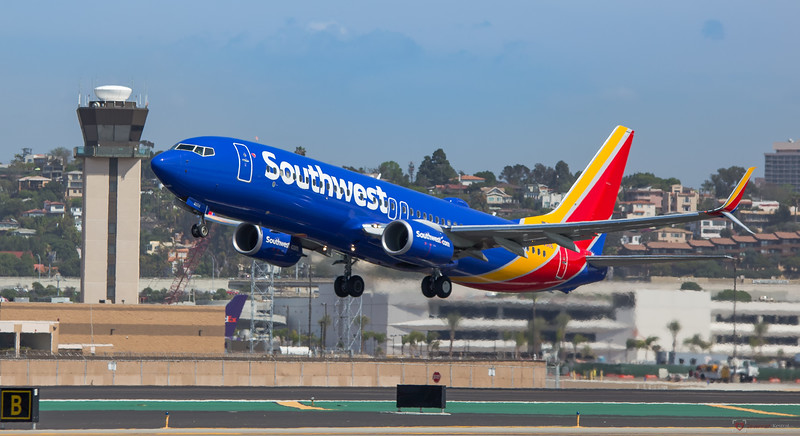 Southwest Air at SAN