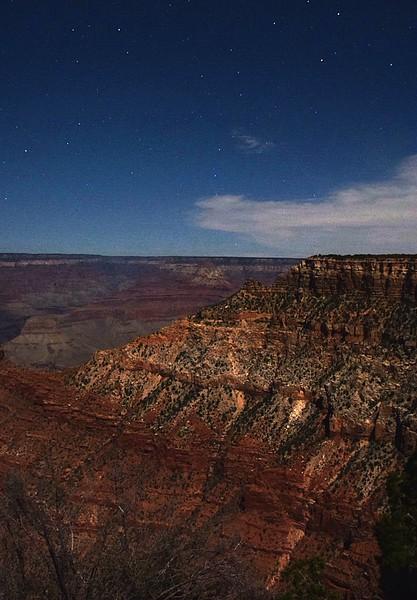 Night at Grand Canyon