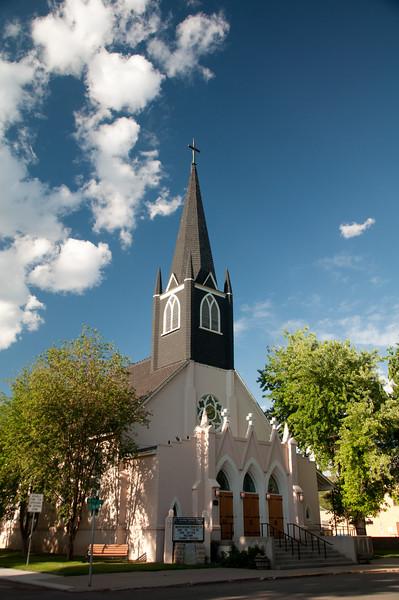St. Columba Catholic Church, Durango CO. Summertime!