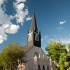 St. Columba Catholic Church, Durango CO. Summertime!