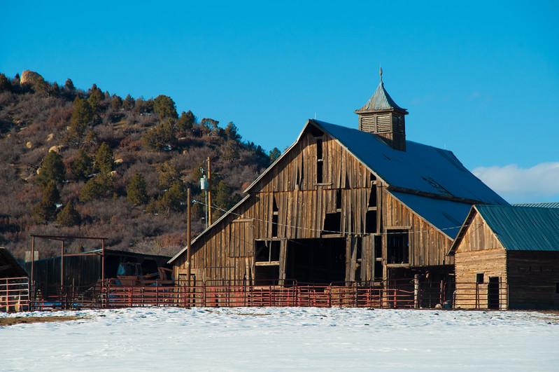 One of my favorite La Plata County barns.