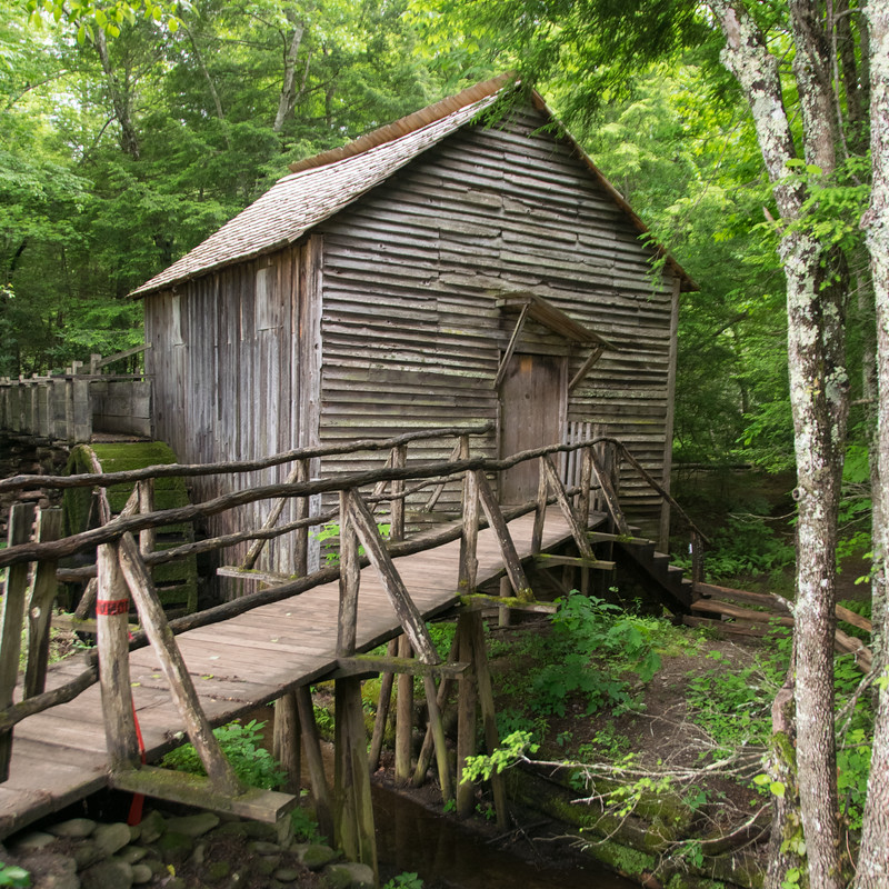 Grist Mill, Cades Cove, Great Smoky Mtn NP