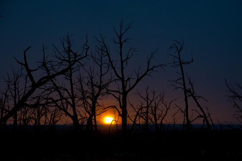 Sunset at Mesa Verde