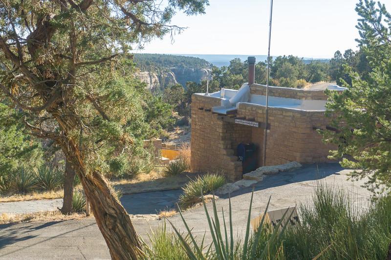 Post Office in Mesa Verde NP