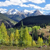 Early autumn photo from  Molas Pass near Durango CO