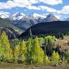 Early autumn photo from  Molas Pass near Durango CO