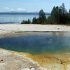 West Thumb area of Yellowstone NP