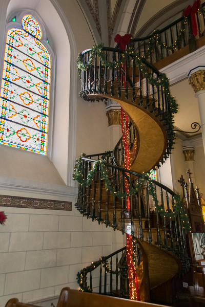 Loretto  Chapel, miracle staircase