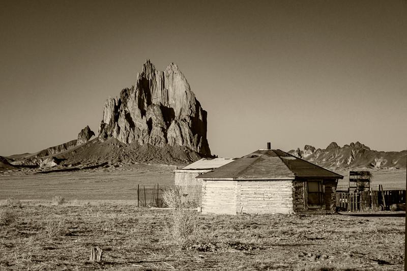 Navajo Life monochrome