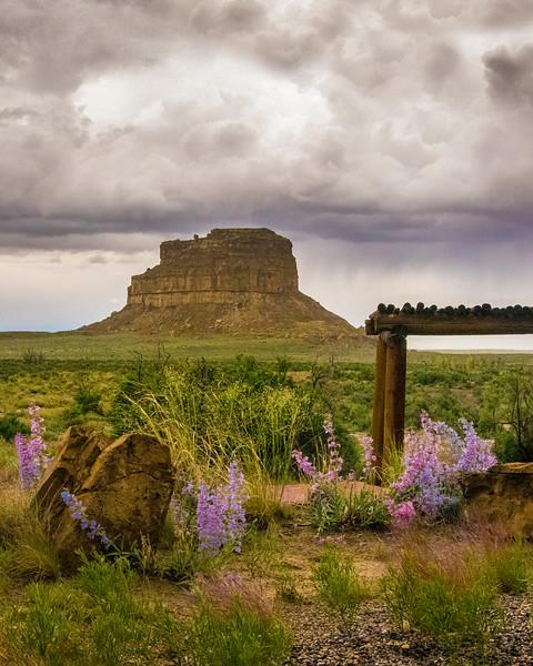 At Chaco Canyon