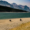 Cowboys, Lake Sherburne, Glacier NP 8/23/17
