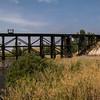 Railroad trestle near Nat'l Bison Range MT 8/24/17