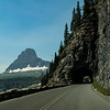 Tunnel, Going to the Sun road, Glacier NP